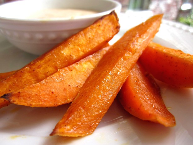 Baked Chipotle Sweet Potato Fries Recipe - Food.com