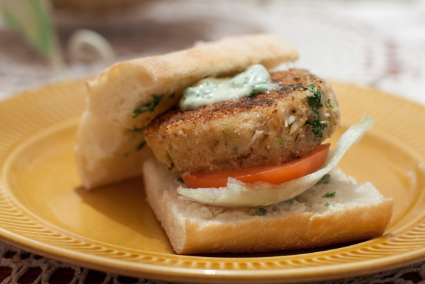 Crab Burger With Herb Mayo Recipe - Australian.Food.com