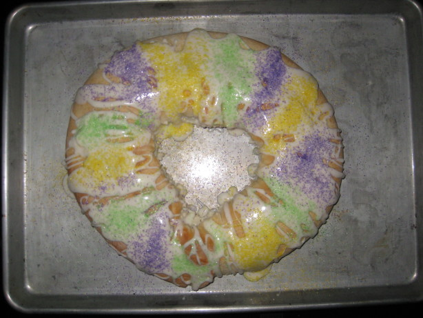 Super Easy King Cake Recipe