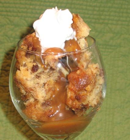Panettone Bread Pudding W Brandy Caramel Sauce Recipe - Food.com