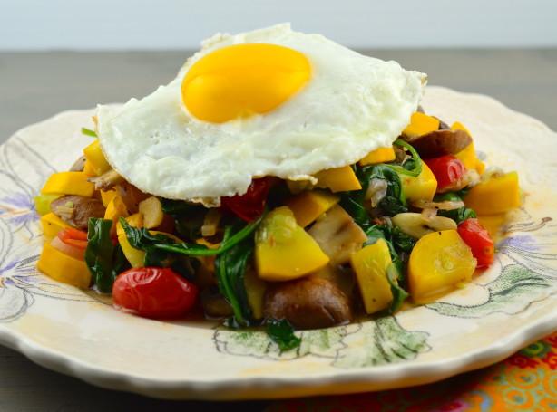 Paleo Breakfast Veggie Hash With Eggs Recipe - Food.com