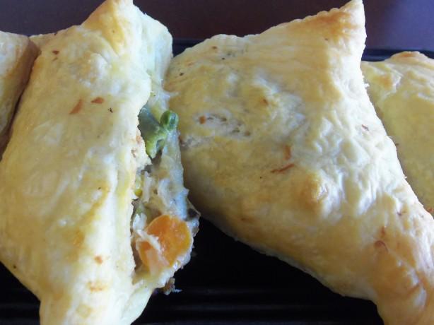 Chicken Pot Pie Turnovers Food Network