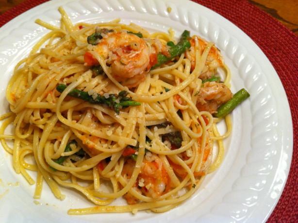 Easy Parmesan Pasta With Asparagus Recipe - Food.com