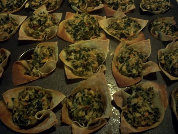 Spinach And Artichoke Cups Recipe - Food.com