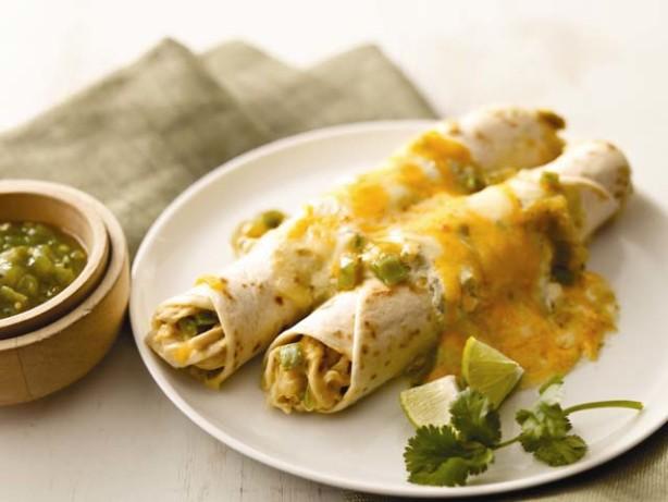 Creamy Chicken Enchiladas Verde RecipeFood.com