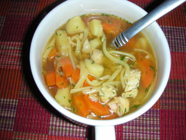 Carrot Soup With Chicken And Thyme Recipes — Dishmaps