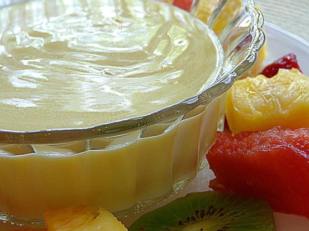 Lemony Delicious Lemon Curd And Yogurt Fruit Dip Recipe