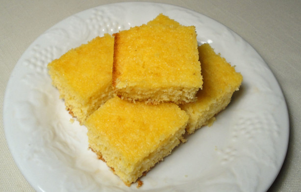 Jiffy Cornbread In A Cake Pan