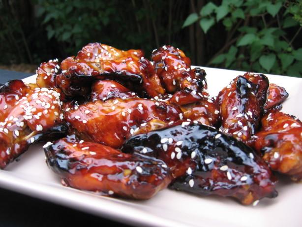 Sweet Soy-Glazed Chicken Wings Recipe - Food.com