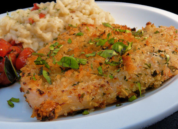 Baked Herb-Crusted Chicken Breasts Recipe - Food.com