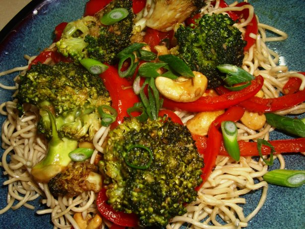 Sydney Broccoli, Red Pepper And Tofu Stir Fry With Balsamic Vi Recipe ...