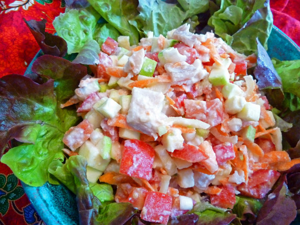 Pacific island fish salad recipe for Fish salad recipes