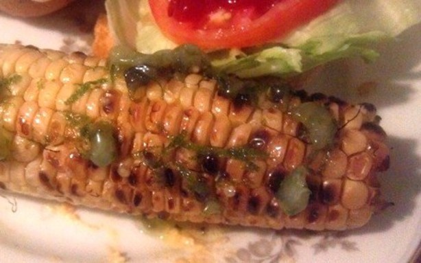 Grilled Corn On The Cob With Roasted Jalapeno Butter Recipe - Food.com