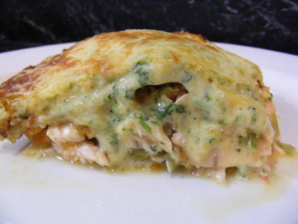 Lasagna With Fresh Salmon And Mascarpone Recipe Food Com
