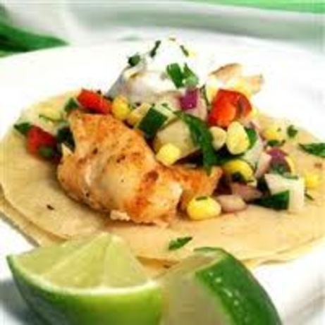 Grilled tilapia fish tacos with adobo sauce recipe for Fish taco recipie