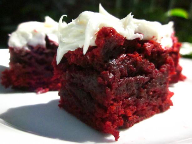 Red Velvet Brownies Recipe Food Network
