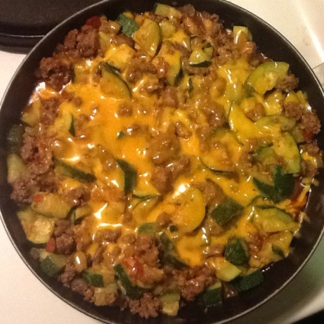 Zucchini and ground beef casserole recipe for Good dinner recipes with ground beef