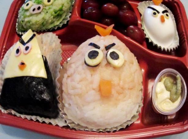 angry birds onigiri bento box recipe. Black Bedroom Furniture Sets. Home Design Ideas