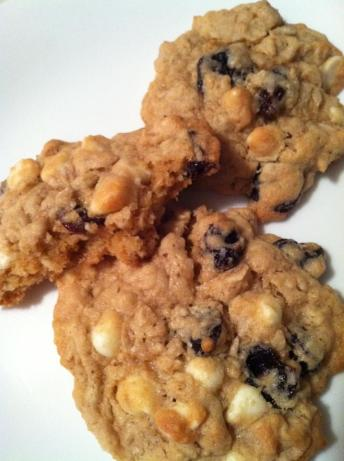 Dried Cherry And White Chocolate Oatmeal Cookies Recipe - Food.com