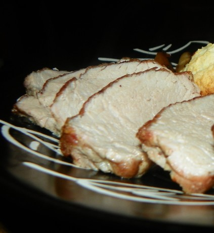 how to cook boneless pork roast with maple butter