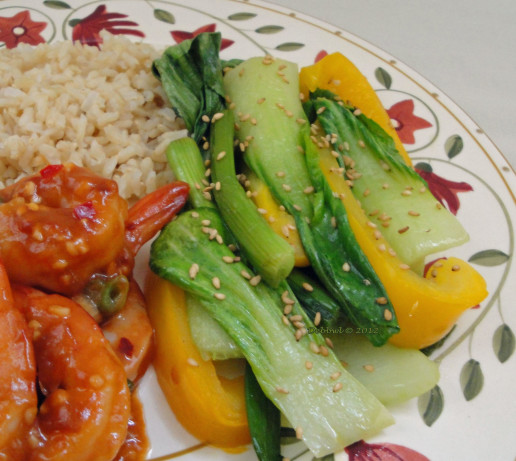 Baby Bok Choy With Yellow Bell Peppers Recipe - Food.com