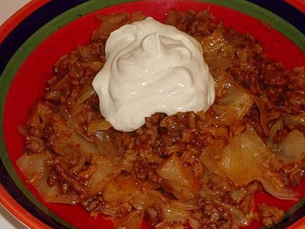 Easy Cabbage Roll Casserole Recipe Food Com