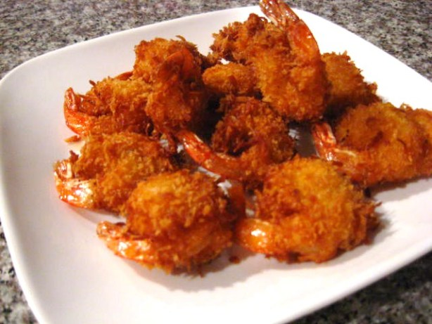 Coconut Shrimp With Spicy Tartar Sauce Dip Recipe - Food.com