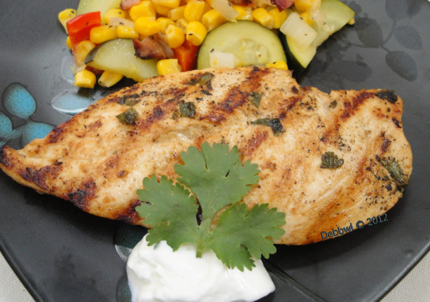 Grilled Mexican Chicken Breast Recipe Food Com