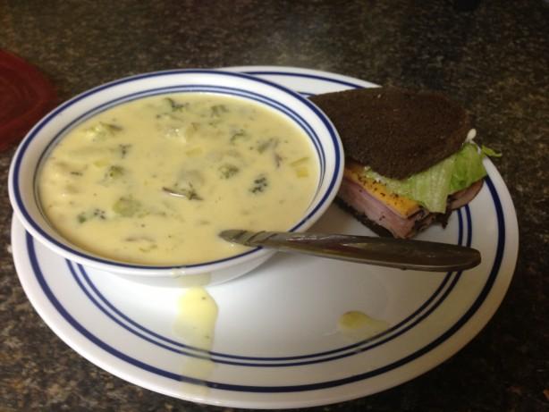 Potato Broccoli Cheese Soup Recipe - Food.com