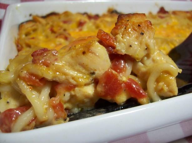 Ro-tel Chicken Spaghetti Recipe - Food.com