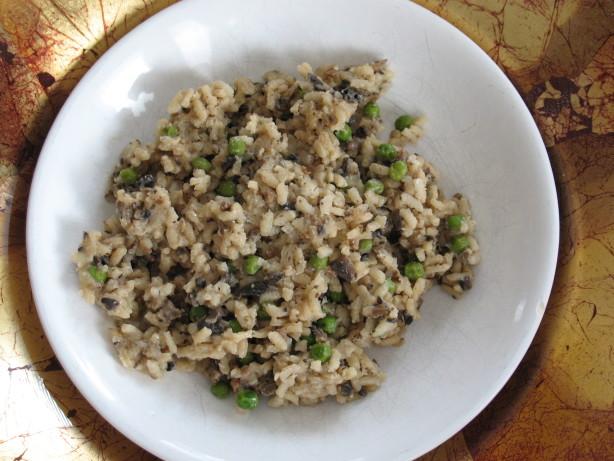Wild Mushroom Risotto With Peas Shrimp Too!) Recipe - Food.com