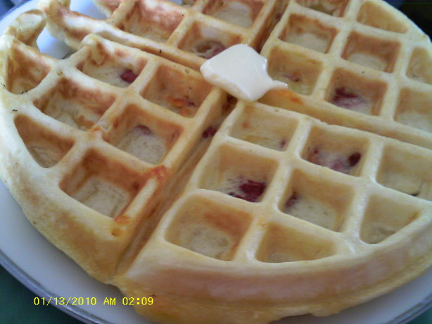 Ham And Cheese Waffles Recipe - Food.com