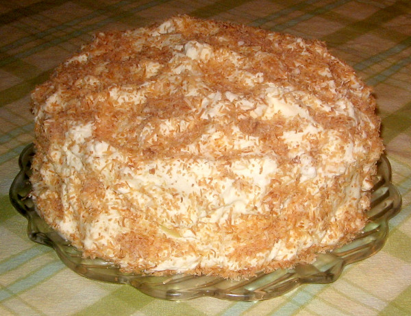 Fresh Coconut Cake From Heaven Recipe - Food.com