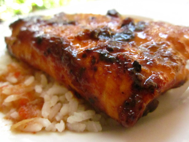 Ginger Lime Glazed Salmon Recipe - Food.com
