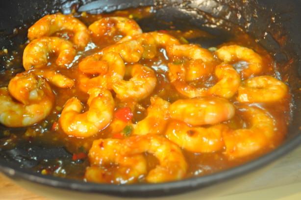 how to make honey garlic prawns