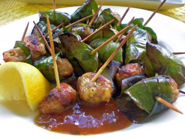 Polpettine Alla Griglia Sicilian Lemon Grilled Meatballs) Recipe ...
