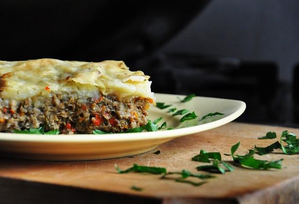 Vegetarian Mushroom Shepherd's Pie - With Vegan Version