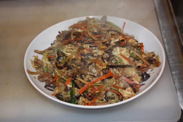 Mu Shu Pork With Mandarin Pancakes RecipeFood.com