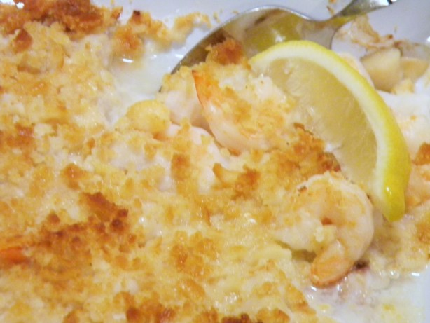 Baked Haddock And Seafood Recipe - Food.com