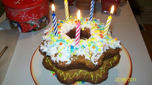 Doggie Birthday Cake For Dogs Recipe Food Com