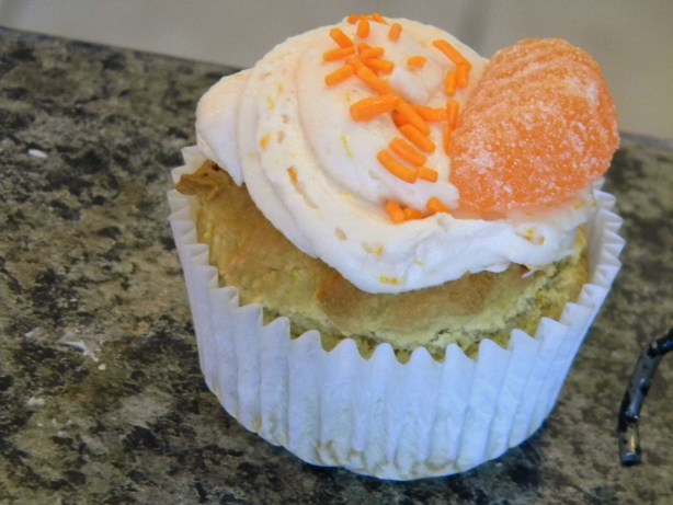 Orange CrAndegrave;me Cupcakes Gfcf Recipe - Food.com