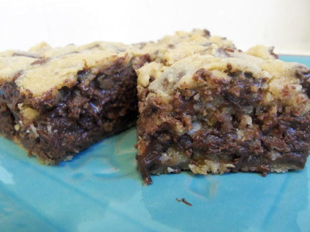 Gooey Chocolate Chip Sandwich Bars Recipe - Food.com