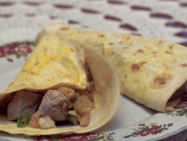 Moo Shu Pork With Mock Mandarin Pancakes RecipeFood.com