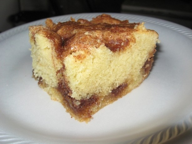Recipe for easy cinnamon coffee cake