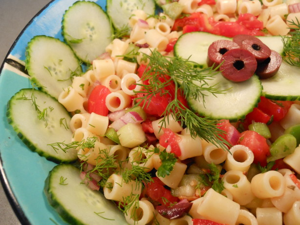 Gazpacho Macaroni Salad Recipe - Food.com