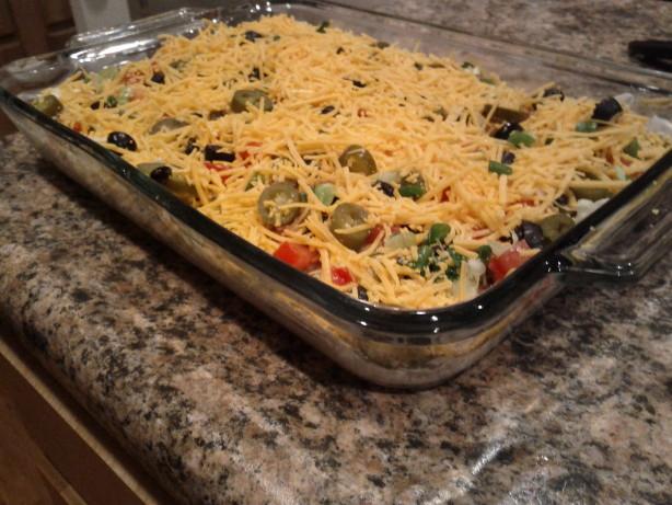 The Best Taco Dip Ever!!! Recipe - Food.com