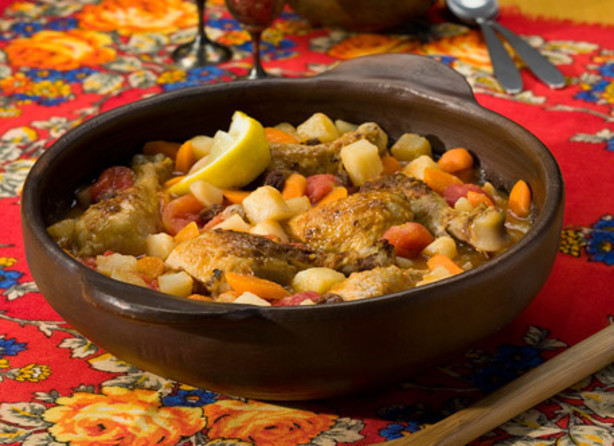 Slow Cooker Moroccan-Style Chicken And Potato Stew Recipe - Food.com