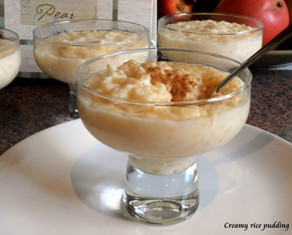 Creamy Rice Pudding Recipe - Food.com