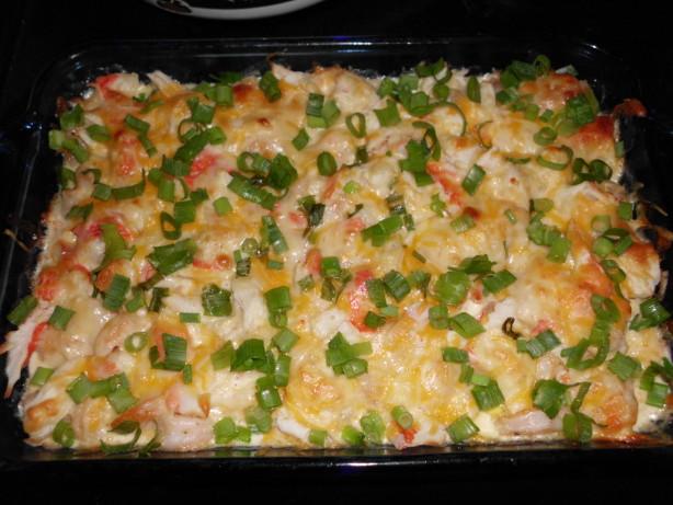 Creamy seafood casserole low carb recipe for Fish casserole recipes