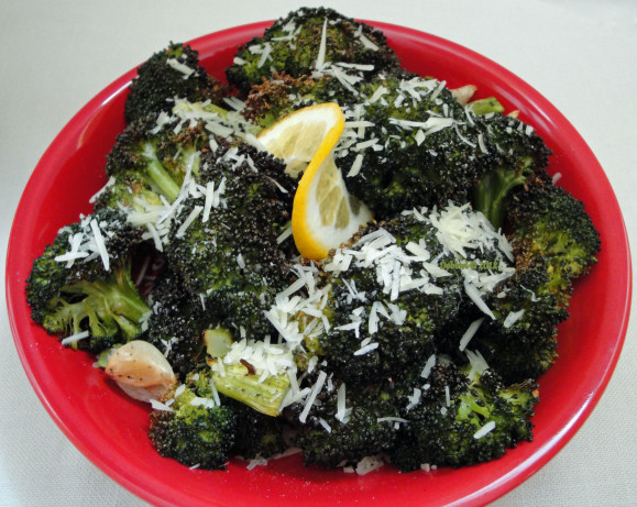 Roasted Parmesan Lemon Broccoli Recipe - Food.com